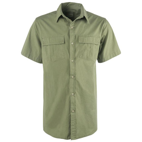 Trappers Double Pocket Stretch Short Sleeve Shirt - Trappers
