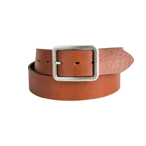 Trappers Garrison Buckle Leather Belt - Trappers