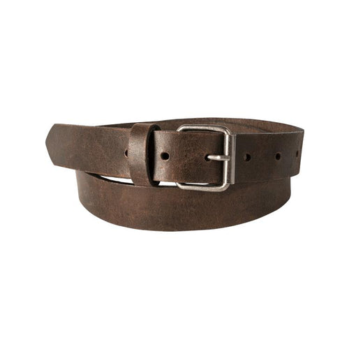 Trappers Ladies Roller Buckle Leather Belt - Trappers