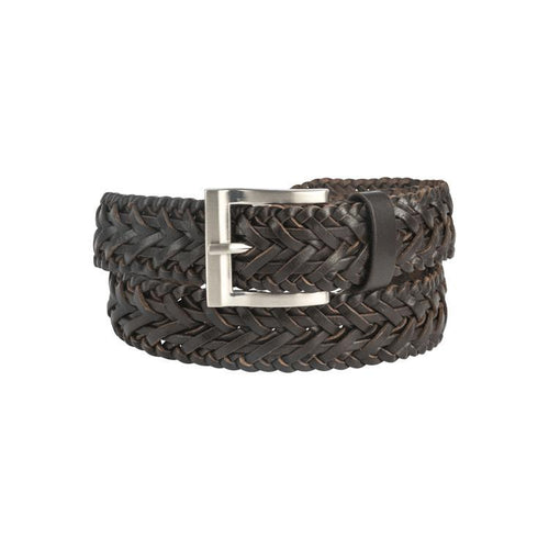 Trappers Plaited Leather Belt - Trappers
