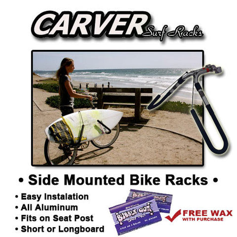 Side Mounted Bike Surfboard Racks