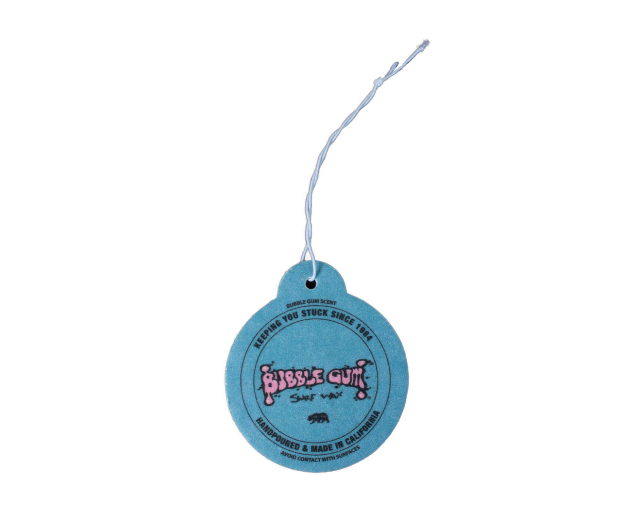 Bubble Gum Surf Wax Air Freshener -Blue