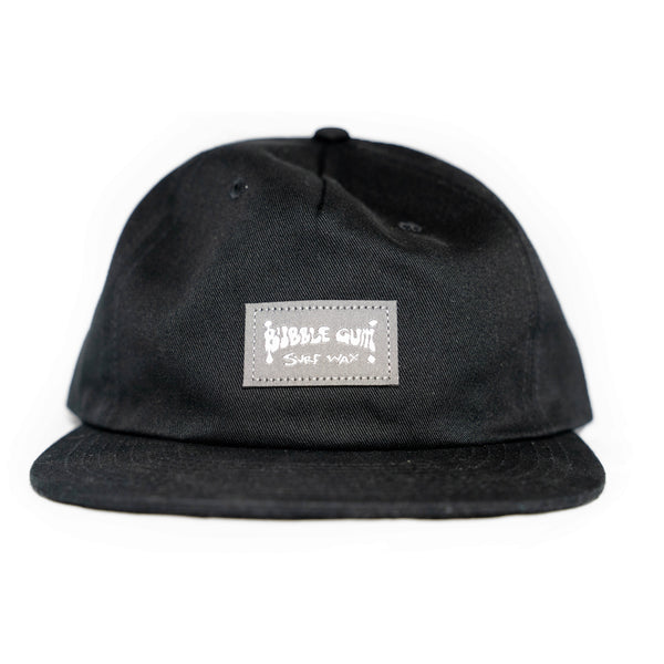 Strapback black hat