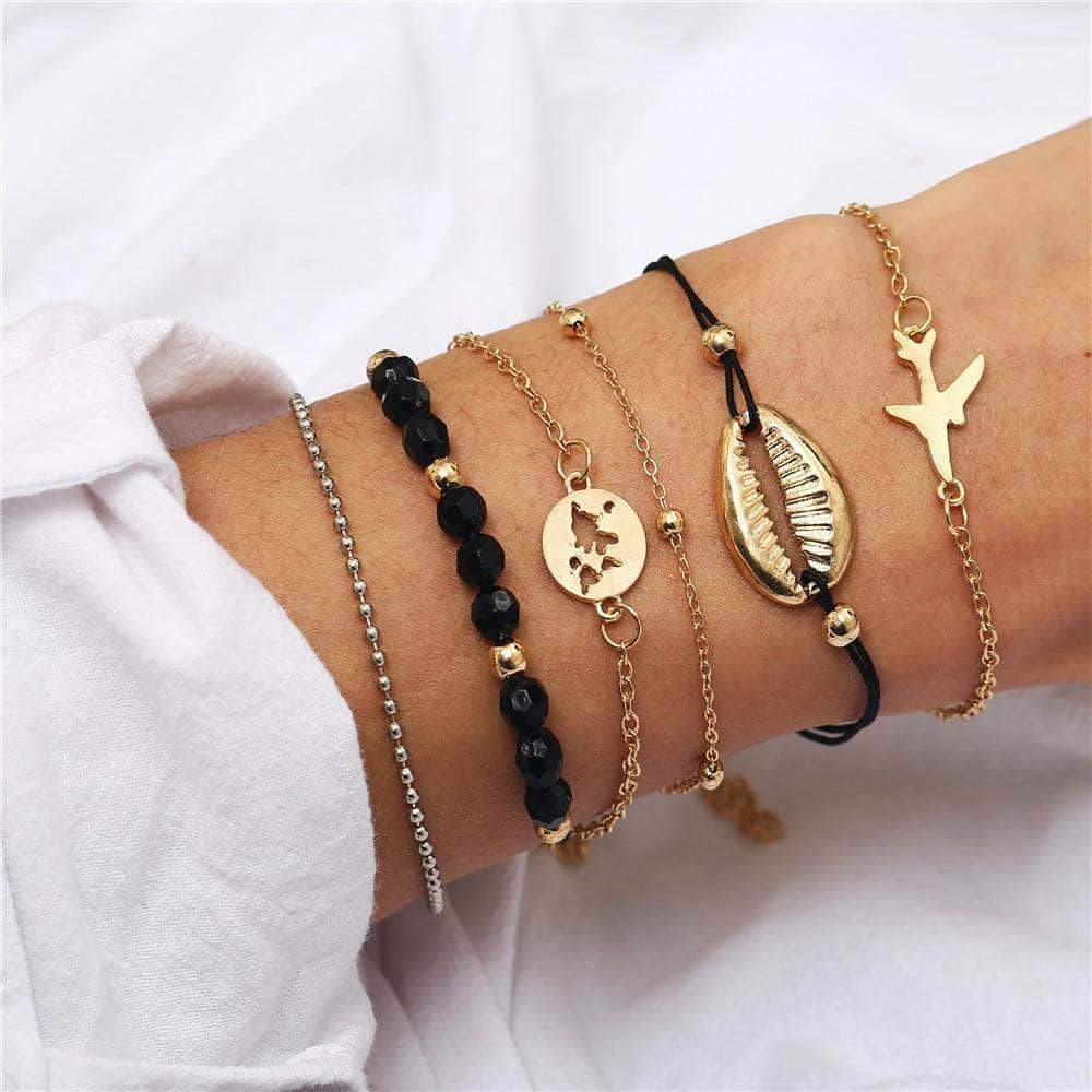 Bohemian Travel Spring/Summer Chain Bracelet - Unique women Jewelry! Rings, bracelets, watches & more..