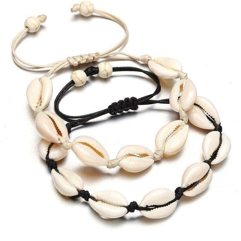 Cowrie Shell Bracelet - Unique women Jewelry! Rings, bracelets, watches & more..