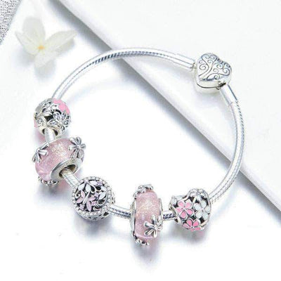 Fairy's Garden Complete Charm Bracelet Silver - Unique women Jewelry! Rings, bracelets, watches & more..