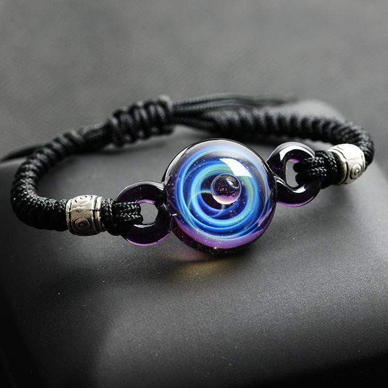 Glass Galaxy Bracelet - Unique women Jewelry! Rings, bracelets, watches & more..