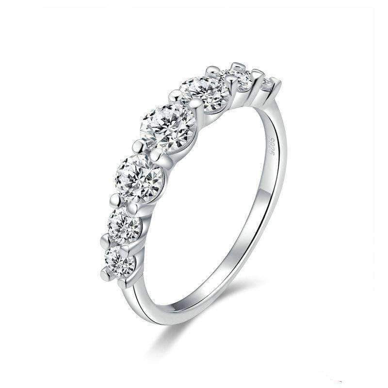 Love Union Eternity Ring Silver - Unique women Jewelry! Rings, bracelets, watches & more..