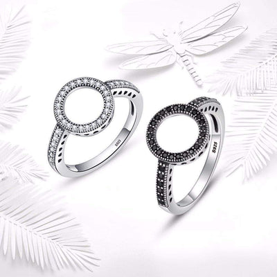 Lucky Circle of Love Ring Silver - Unique women Jewelry! Rings, bracelets, watches & more..