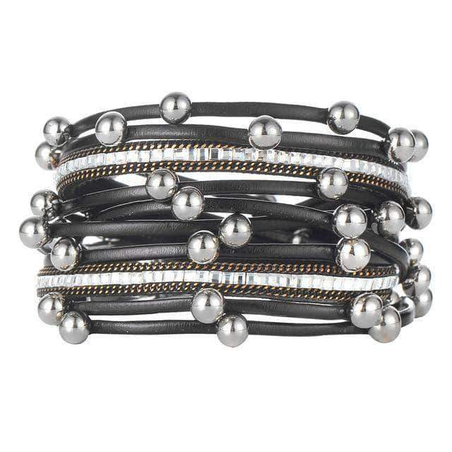 Multilayers Beads Wrap Bracelet