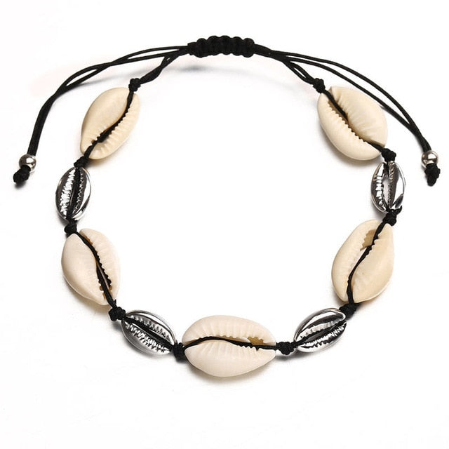 Bohemian Cowrie Shell Anklet - Unique women Jewelry! Rings, bracelets, watches & more..
