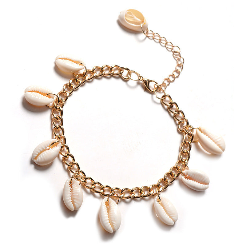 Statement Cowrie Shell Bracelet - Unique women Jewelry! Rings, bracelets, watches & more..