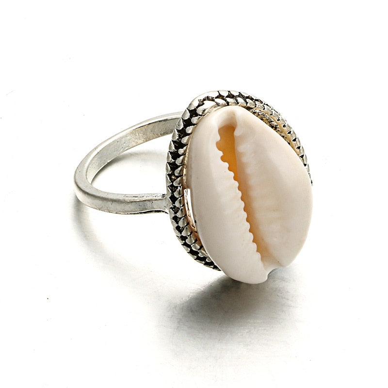 Bohemia Cowrie Shell Ring - Unique women Jewelry! Rings, bracelets, watches & more..