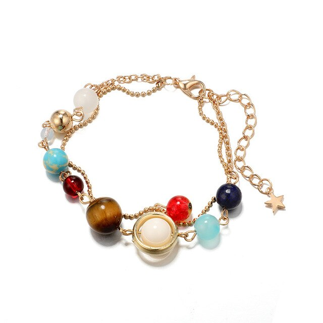 Solar System Energy Anklet - Unique women Jewelry! Rings, bracelets, watches & more..