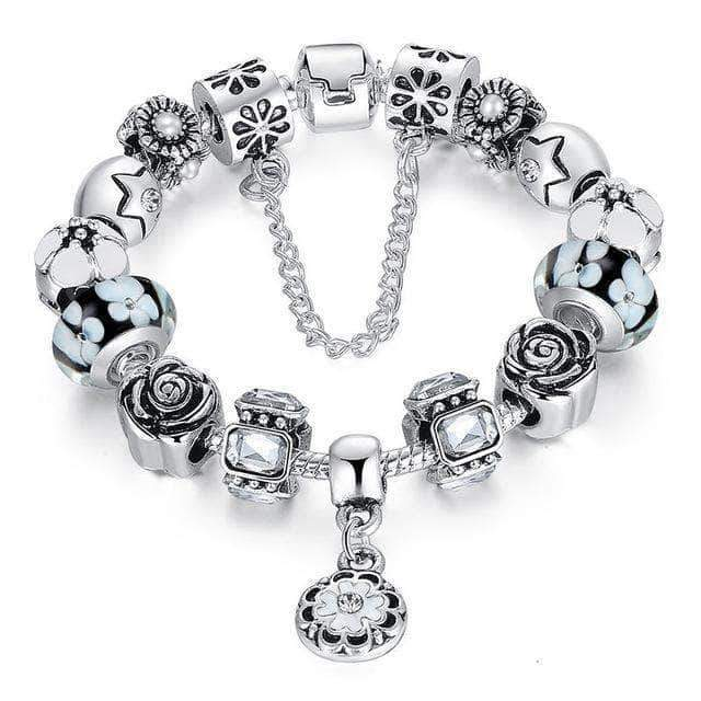 Spring Blossom Complete Charm Bracelet - Unique women Jewelry! Rings, bracelets, watches & more..