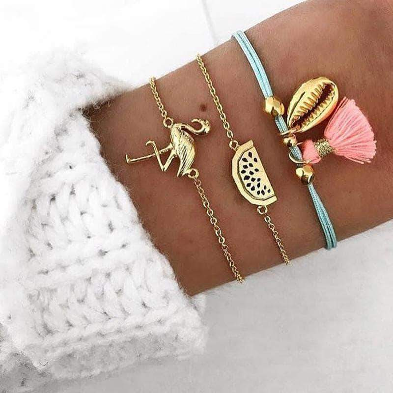 The Flamingo Bohemian Spring/Summer Bracelet