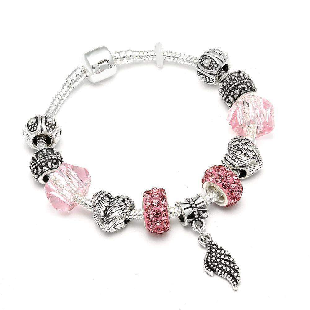 The Heart Wing Charm Bracelet - Unique women Jewelry! Rings, bracelets, watches & more..