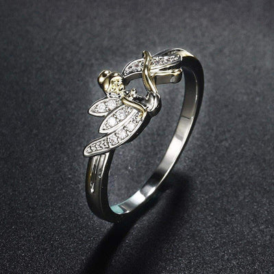 The Lucky Angel Ring - Unique women Jewelry! Rings, bracelets, watches & more..