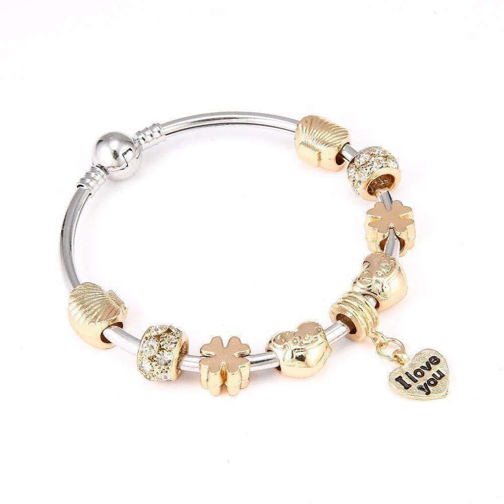 The Summer Shell Charm Bracelet - Unique women Jewelry! Rings, bracelets, watches & more..