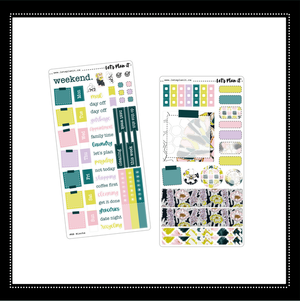 Mischa | Hobonichi Weeks weekly sticker kit