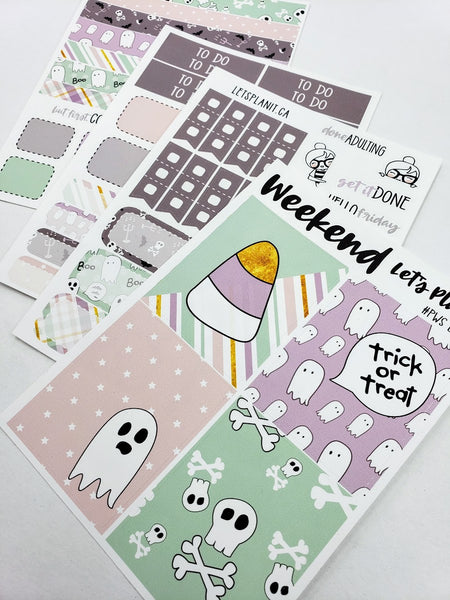 Esther | Personal/TN/  minl weekly Planner kit