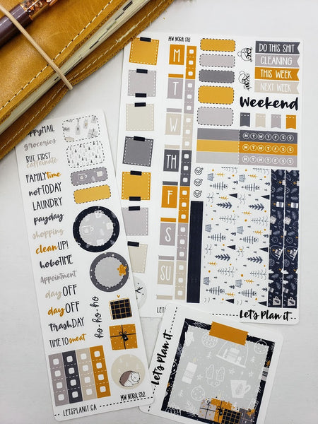 Nora | Weekly kit for the Hobonichi Weeks Planner