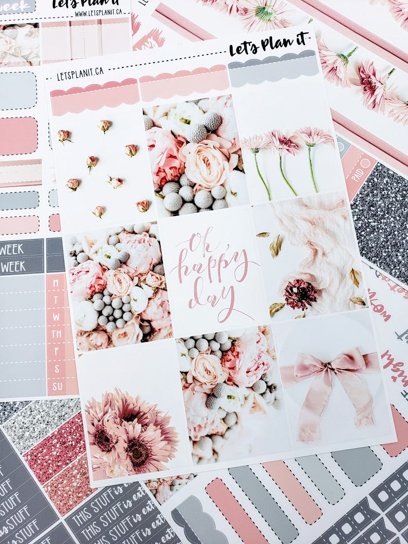 DAISY - weekly kit for vertical layout