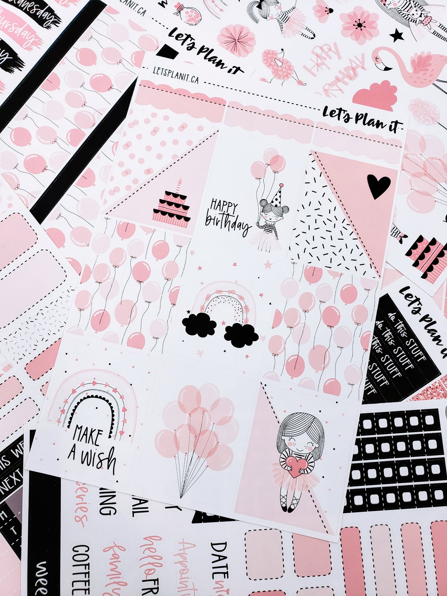 Lizzy - weekly kit for vertical layout