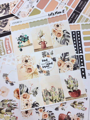 Danielle - weekly kit for vertical layout