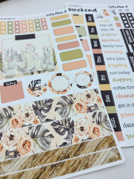 Danielle | Weekly kit for the Hobonichi Weeks Planner