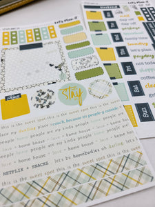 Corrina - homebody | Weekly kit for the Hobonichi Weeks Planner
