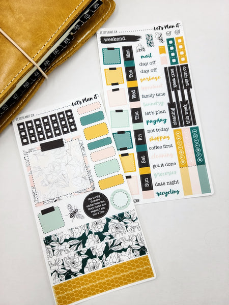 Courtney | Weekly kit for the Hobonichi Weeks Planner