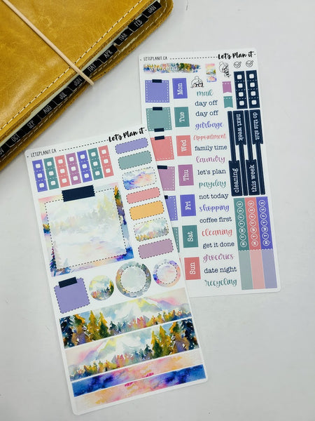 Erin | Weekly kit for the Hobonichi Weeks Planner
