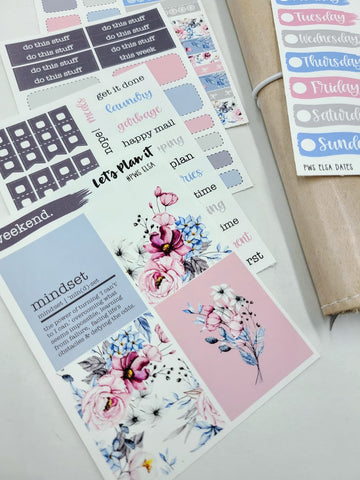 Elsa | PP Weeks/ TN/ mini weekly Planner kit
