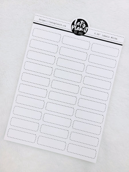 "Rounded edge box labels 0.48"" tall  