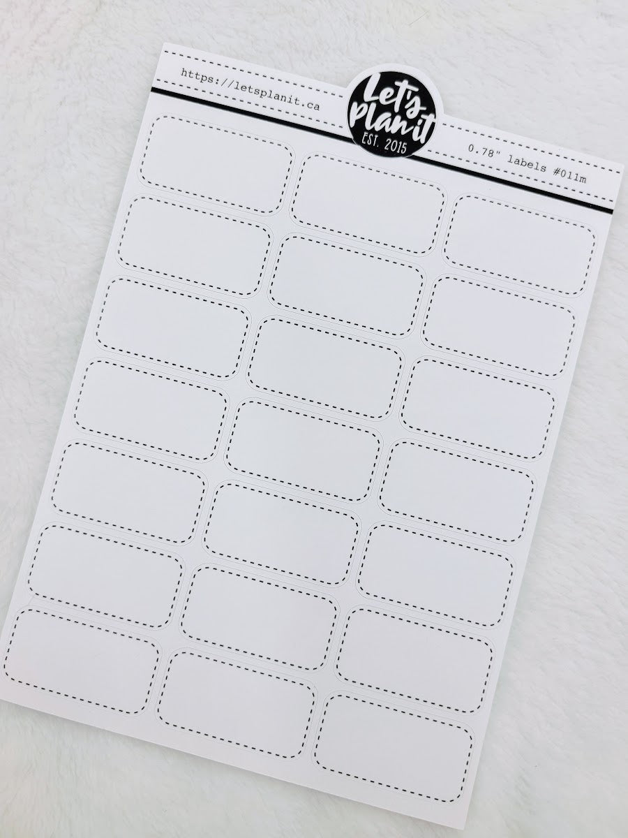 "Rounded edge box labels 0.78"" tall  