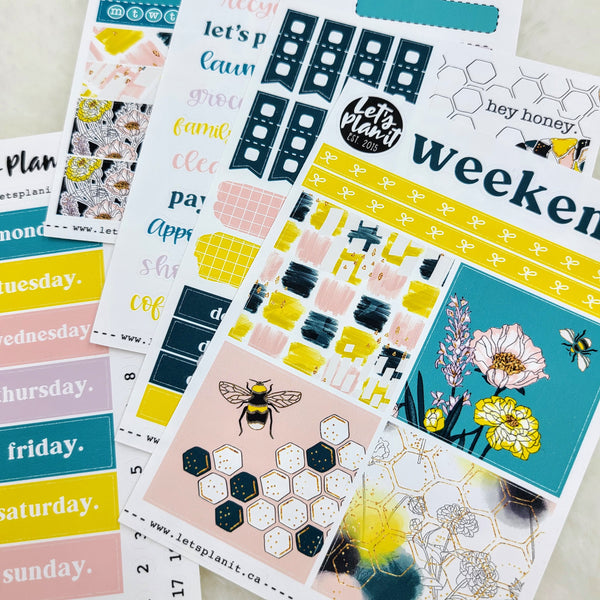 Mischa | PP Weeks/TN mini weekly sticker kit