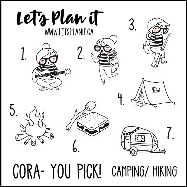 Cora-u-pick- Camping/ Hiking