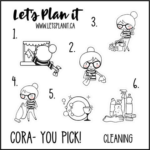 Cora-u-pick- Cleaning