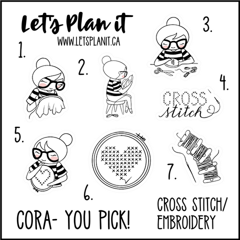 Cora-u-pick- Cross Stitch