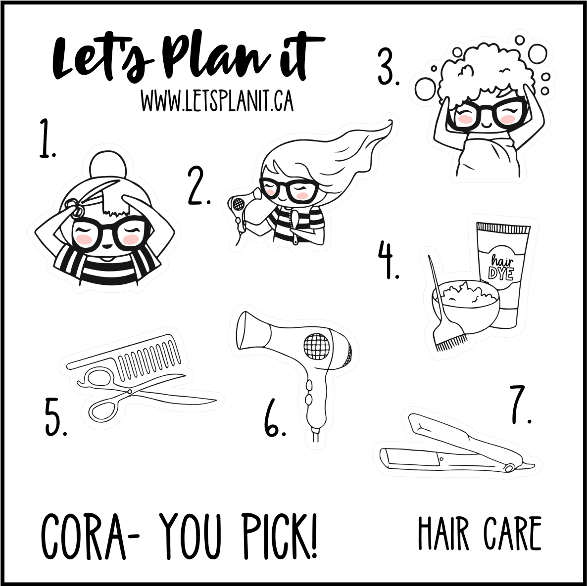 Cora-u-pick- Hair Care