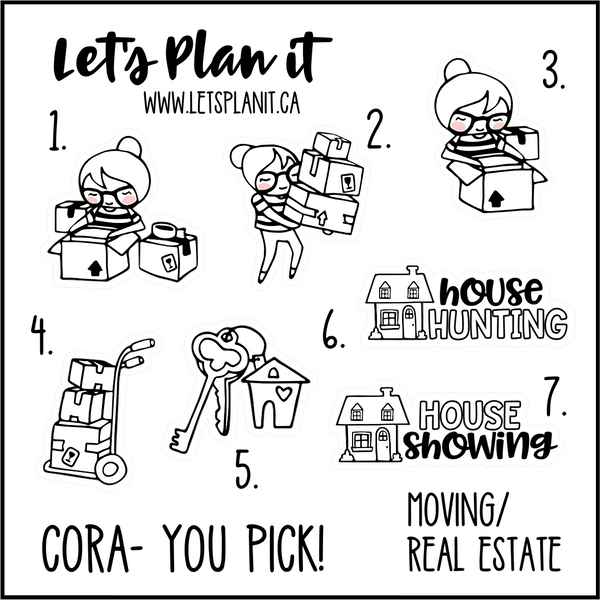 Cora-u-pick- Moving / Real Estate