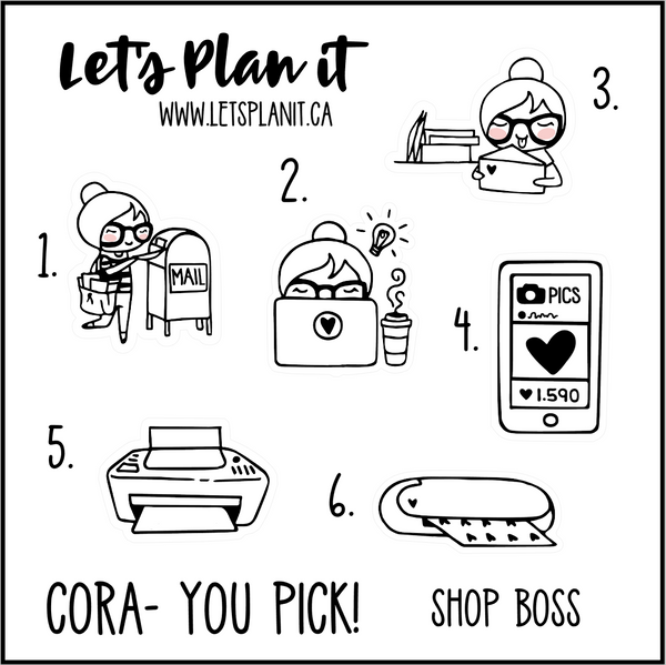 Cora-u-pick- Shop Boss