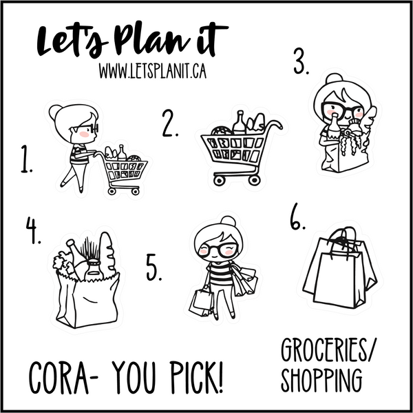 Cora-u-pick- Shopping/ Groceries