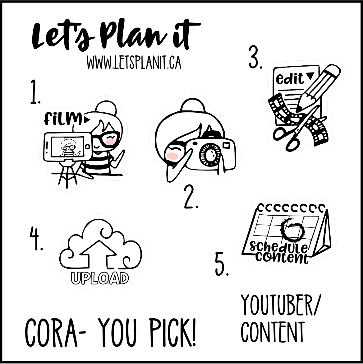 Cora-u-pick- Youtube/ Vlogger