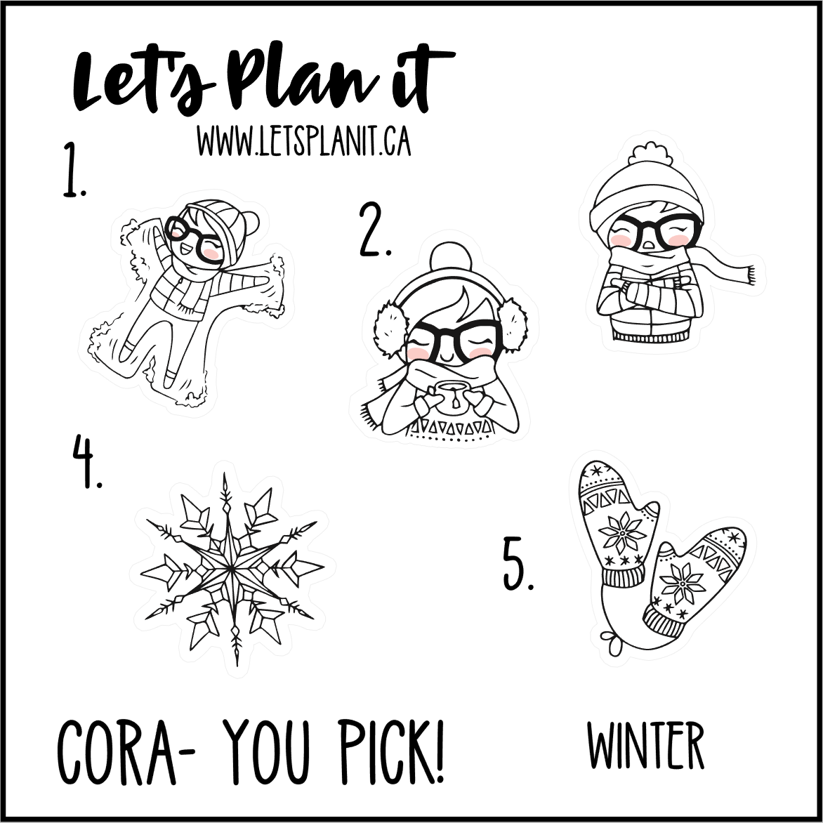 Cora-u-pick- Winter