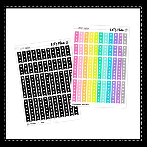 Checklists | monochrome variety  | Planner stickers
