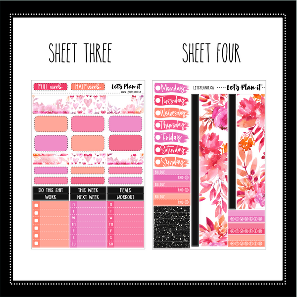 AMIE - weekly kit for vertical layout
