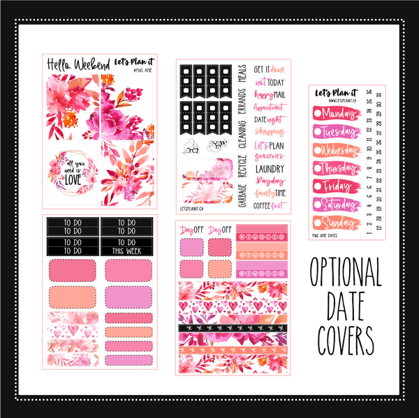 AMIE | PP Weeks/ TN/ mini weekly Planner kit