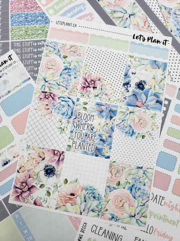 Becca - weekly kit for vertical layout